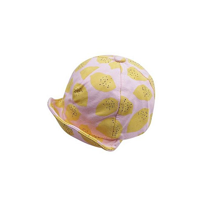 9f8593d8 Hiaojbk Store Cute Toddler Baby Kids Baseball Cap Lemon Printed Sunhat Boys  Girls Cap Sunhat-