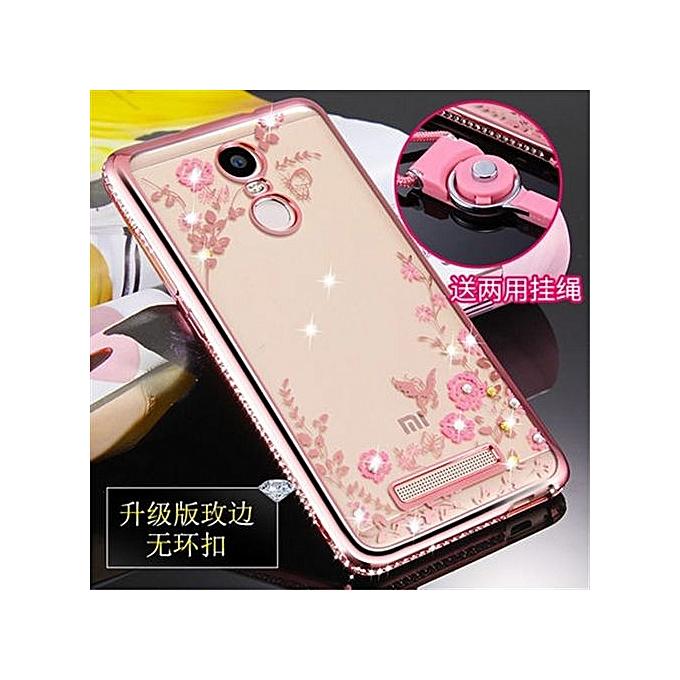 Buy Generic Luxury Rhinestone Phone Case Cover Holder Stand For Xiaomi Redmi Note3 /Xiaomi Redmi