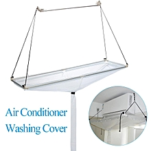 Hanging Air Conditioner Washing Cleaning Waterproof Cover Protector Home Use