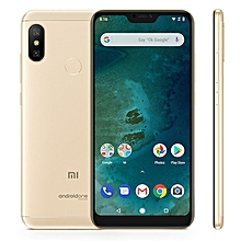 Mi A2 Lite 3GB+32GB Global Offical Version 4000mAh Battery 5.84 inch Android One Qualcomm Snapdragon 625 Octa Core up to 2.0GHz 4G Smartphone(Gold)