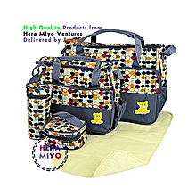 Stylish Waterproof Multi Pockets Large Capacity Baby Diaper Bag