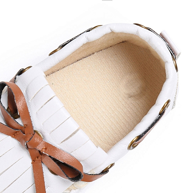 2e0db0573d086 Baby Shoes Boy Girl Newborn Leather Crib Soft Sole Shoe Sneakers