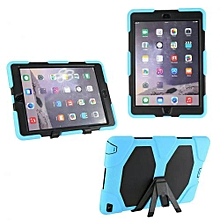 Hot Luxury Multifunction Fashion Stand Case Cover For iPad Air 2 SB-Sky Blue