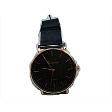 Geneva Watch - Black