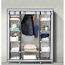 Portable Wardrobe  - 3 Columns -Beige