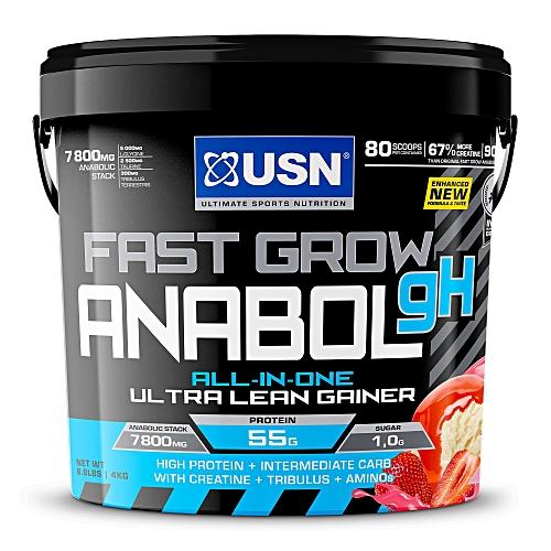 Fast Grow Anabolic - 4kg (8.8 lbs) - Strawberry
