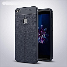 Shockproof Non slip Soft TPU Protective Slim Flexible Case with Litchi Pattern Leatherwear Case Cover for Huawei Nova Lite   XXZ-Z