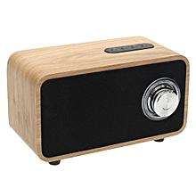 Digitalradio DAB+ Radio Wecker Tuner Bluetooth Lautsprecher LCD-Display Walnuss Wood grain
