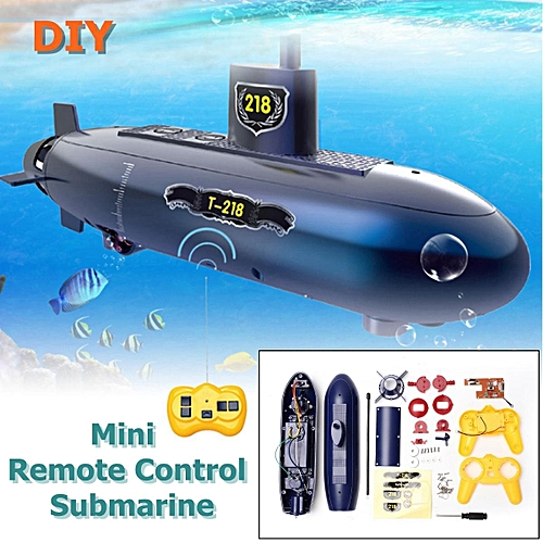 Generic 6 Channels Mini Rc Submarine Remote Control Under Water Boat
