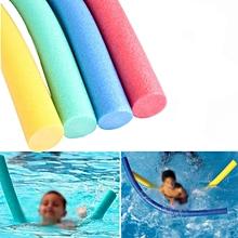 Flexible Rehabilitation Learn Swimming Pool Noodle Water Float Aid Woggle Swim