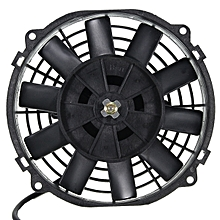 12V 80W 2100RPM Straight Blade Electric Cooling Radiator Fan Kit Universal
