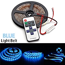 LED Strip Light For Boat Truck Car SUV Waterproof 5M 300 LED Car Lights Decorative Lamp Wireless Controller Blue