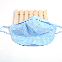 Women Summer Outdoor Cotton Dot Dust Masks Breathable Sunscreen Face Mask