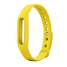 Wrist Band Replacement Bracelet For Xiaomi Band Yellow