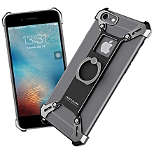 NILLKIN Barde Metal Ring Bracket Holder Case Shockproof Back Cover Bumper for iPhone 6Plus / 6s Plus