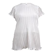 White short sleeved ladies top