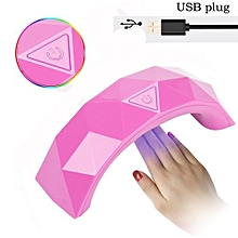 9W UV Lamp Light Nail Dryer Manicure Gel With Timer