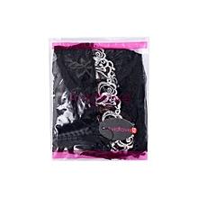 Avidlove Ladies Women Sexy Strap Embroidery See-through Lingerie Set Babydoll Sleepwear Mini Night Dress +G-String