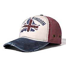 Men's Cotton Adjustable Baseball Cap Flag Of Rice Hat Snapback Hip-pop Hat