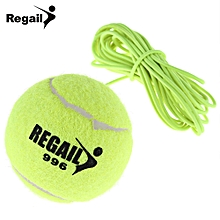 Tennis Ball With String Replacement For Drill Tennis Trainer - Neon Green