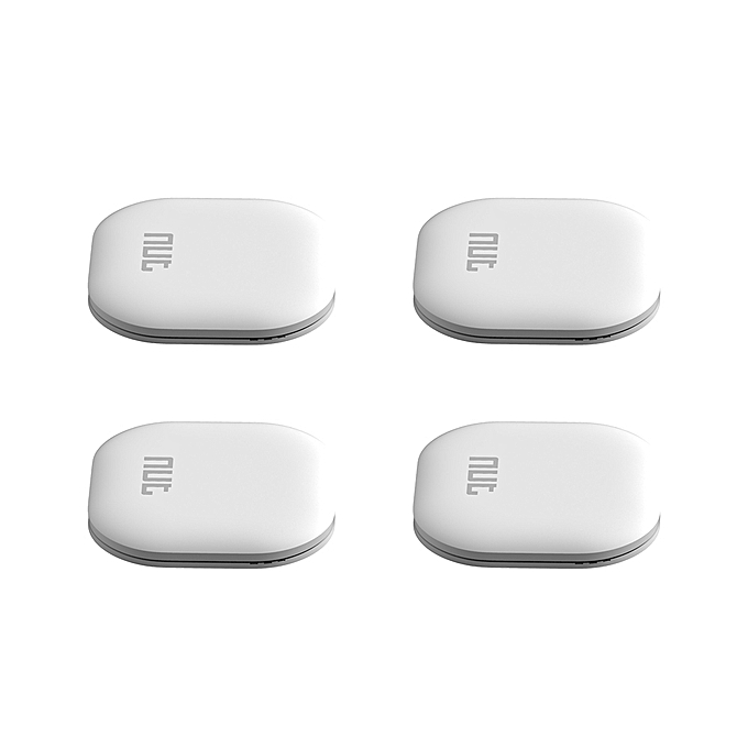 nut Color Anti-lost Tracker 4 Pieces Mini Finder Wireless BT Tag Tracker Tracking Reminder