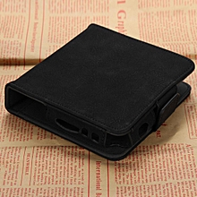 For IQOS Electronic Cigarette Kit Box Holder Carry Pouch Bag Leather Cards Case Black