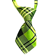 Blue Lans Dog Necktie (Green)