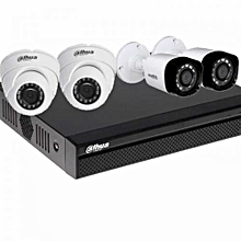4 channel HD Complete CCTV camera system