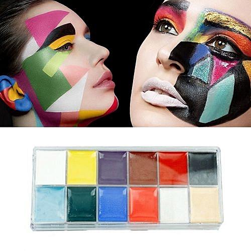 Buy Generic 12 Colors Body Face Paint Makeup Painting Pigment