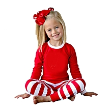 6b3e751960 TB Soft Christmas Pajamas Autumn Winter Mother Father Daughter Son Set  red amp white