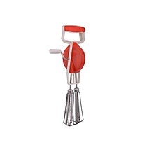 Mixer,Whisker and Beater - Red