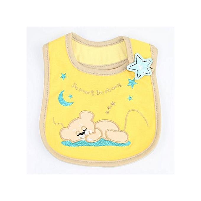 Braveayong Baby Newborn Infants Kids Toddler Cotton Waterproof Bibs Saliva  Towel -78 6c6d9d53f57c
