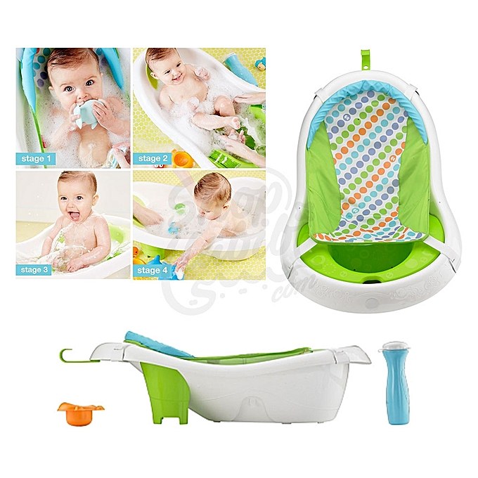 Generic Baby Hanging 4 Stage Newborn To Toddler Baby Bath Tub For