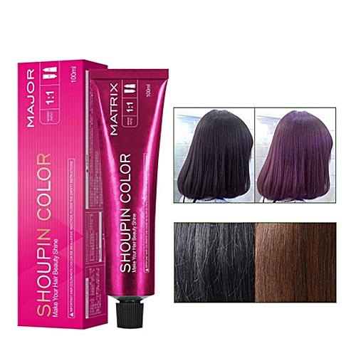 Generic 100ml Professional Permanent Hair Dye Ammonia Free Non-toxic ...