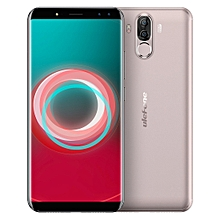 Ulefone Power 3s,  4GB+64GB, Dual Back Cameras + Dual Front Cameras, 6350mah Big Battery, Face & Fingerprint Identification, 6.0 inch Android 7.1 MTK6763 Octa-core up to 2.0GHz, Network: 4G,  OTG,  Dual SIM(Gold)