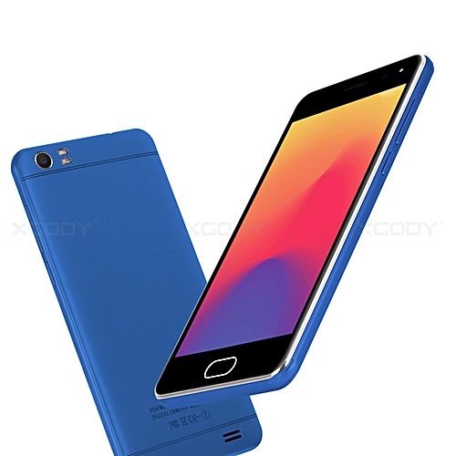 """5"""" un-locked Smartphone New AT&T T-Mobile Straight Talk Android Cell Phone-blue"""