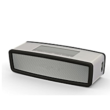 Speaker Travel Box Silicone Carry Case Bag for BOSE SoundLink Mini Bluetooth Speaker BK-black