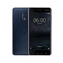 Nokia 6 -  5.5 '' 32GB /3GB RAM (Dual SIM)16MP REAR CAMERA 8MP FRONT CAMERA - TEMPERED BLUE
