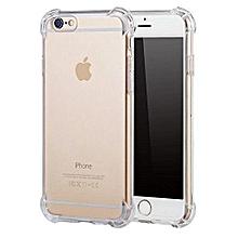 IPhone 6 Case  Anti-Shock Air Cushion Shock Clear Soft Thick Bumper TPU Cover Phone Casing  Color-0