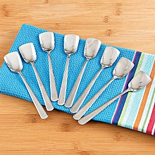 12- Piece High Quality Ice cream/Square head Teaspoon