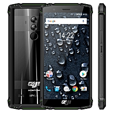 HOMTOM ZOJI Z9 Triple Proofing Phone, Dual 4G, 6GB+64GB IP68 Waterproof Dustproof Shockproof(Green)
