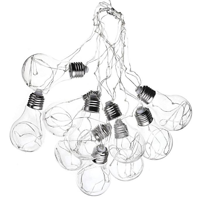 Universal 4m 10 Led Globe Bulb Fairy String Light Christmas Xmas