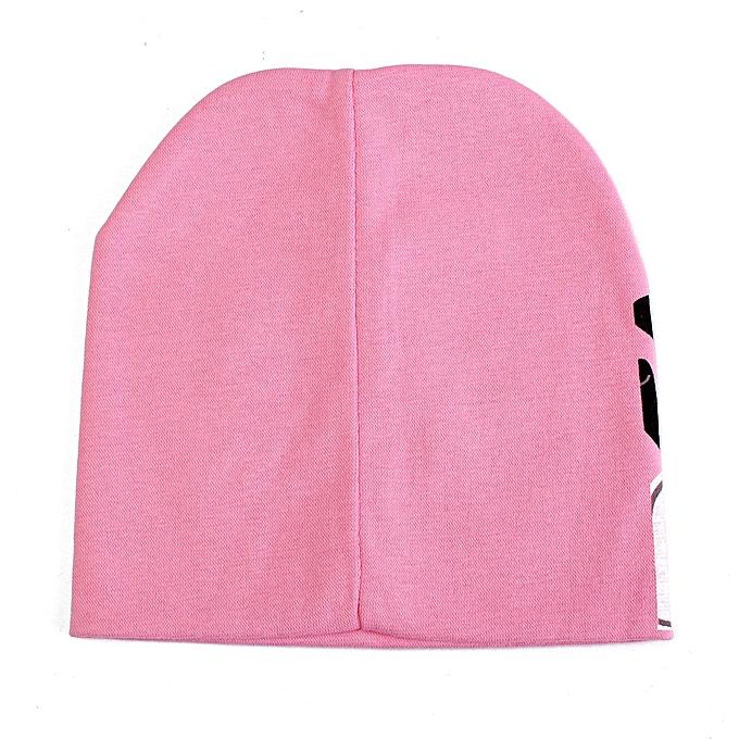 76a64eada65 ... Cute Toddler Infant Baby Kids Boy Girl Soft Warm Hat Cap Beanie Cotton  Newborn Pink
