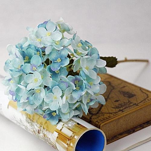 Buy Generic Artificial Hydrangea Silk Fake Flowers Balls Wedding