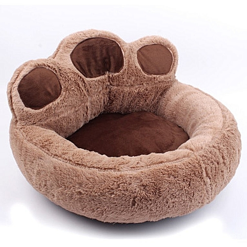 Generic Cartoon Bear Paw Pet Nest Kennel Cat Litter Full Detachable