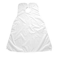 Compact Size Waterproof Beard Shave Apron Solid Color Beard Trimming Apron