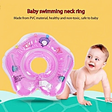 Baby Neck Ring Bath Swimming Pool Float Inflatable Double Balloon Safety Circle
