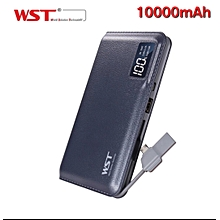 10000mAh Powerbank slim portable and with Fast Charge Output