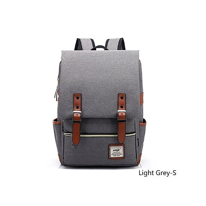 2f28df5386ca Men And Women Vintage Casual Canvas Backpack Travel Bag School Backpacks