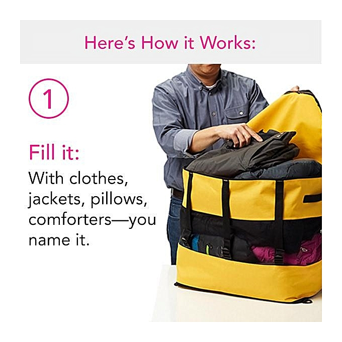 af4d6a1d4b48 ... Multifunctional Men Women Baggage Storage Bag Suitcase Travel Handbag  Duffle Bag ...